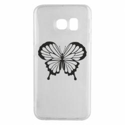 Чехол для Samsung S6 EDGE Soft butterfly