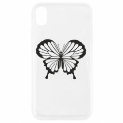 Чехол для iPhone XR Soft butterfly