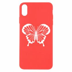 Чехол для iPhone Xs Max Soft butterfly