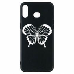 Чехол для Samsung A6s Soft butterfly