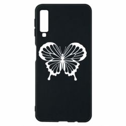 Чехол для Samsung A7 2018 Soft butterfly