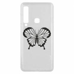 Чехол для Samsung A9 2018 Soft butterfly