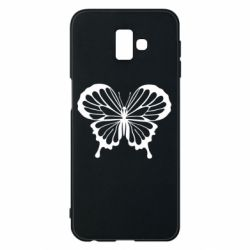 Чехол для Samsung J6 Plus 2018 Soft butterfly