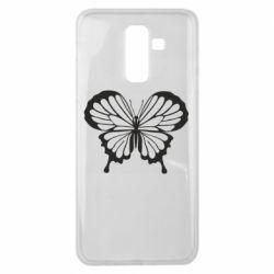 Чехол для Samsung J8 2018 Soft butterfly