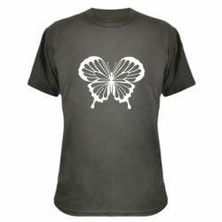 Камуфляжная футболка Soft butterfly
