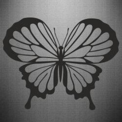 Наклейка Soft butterfly