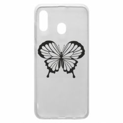 Чехол для Samsung A30 Soft butterfly