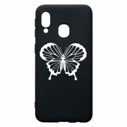 Чехол для Samsung A40 Soft butterfly