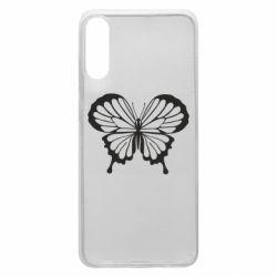 Чехол для Samsung A70 Soft butterfly