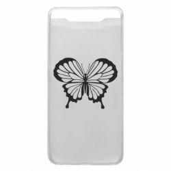 Чехол для Samsung A80 Soft butterfly