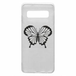Чехол для Samsung S10 Soft butterfly