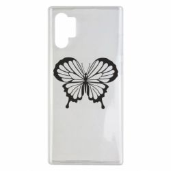 Чехол для Samsung Note 10 Plus Soft butterfly