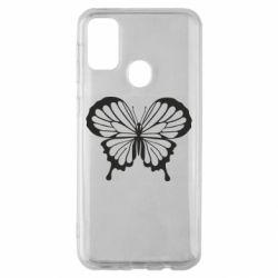 Чехол для Samsung M30s Soft butterfly