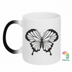 Кружка-хамелеон Soft butterfly