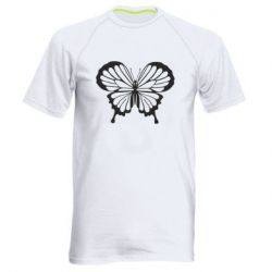 Мужская спортивная футболка Soft butterfly