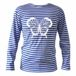 Тельняшка с длинным рукавом Soft butterfly