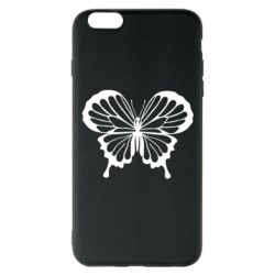 Чехол для iPhone 6 Plus/6S Plus Soft butterfly