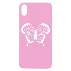 Чехол для iPhone X/Xs Soft butterfly
