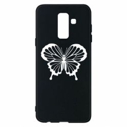 Чехол для Samsung A6+ 2018 Soft butterfly