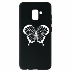 Чехол для Samsung A8+ 2018 Soft butterfly