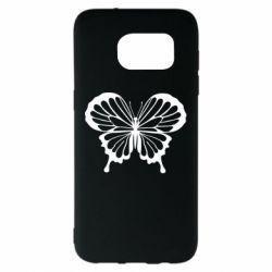Чехол для Samsung S7 EDGE Soft butterfly