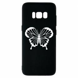 Чехол для Samsung S8 Soft butterfly
