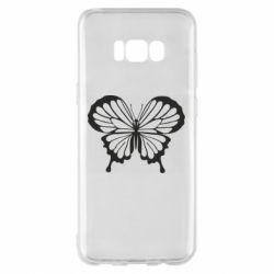 Чехол для Samsung S8+ Soft butterfly