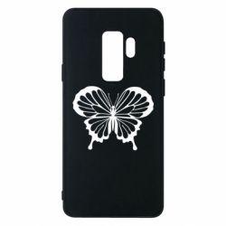Чехол для Samsung S9+ Soft butterfly
