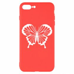 Чехол для iPhone 8 Plus Soft butterfly