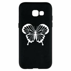 Чехол для Samsung A5 2017 Soft butterfly