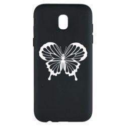 Чехол для Samsung J5 2017 Soft butterfly
