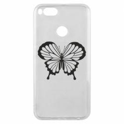 Чехол для Xiaomi Mi A1 Soft butterfly