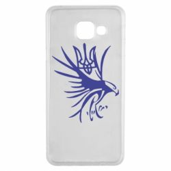 Чохол для Samsung A3 2016 Сокіл та герб України