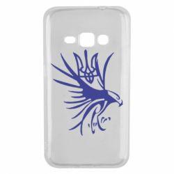 Чохол для Samsung J1 2016 Сокіл та герб України