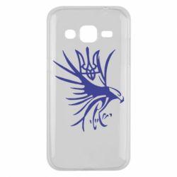 Чохол для Samsung J2 2015 Сокіл та герб України