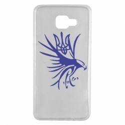 Чохол для Samsung A7 2016 Сокіл та герб України