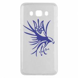 Чохол для Samsung J5 2016 Сокіл та герб України