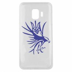 Чохол для Samsung J2 Core Сокіл та герб України