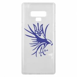 Чохол для Samsung Note 9 Сокіл та герб України