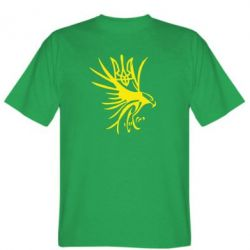 Мужская футболка Сокіл та герб України - FatLine