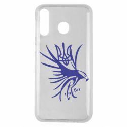 Чохол для Samsung M30 Сокіл та герб України