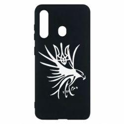 Чохол для Samsung M40 Сокіл та герб України