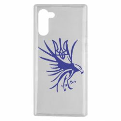 Чохол для Samsung Note 10 Сокіл та герб України