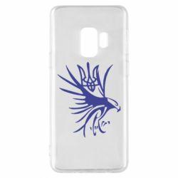 Чохол для Samsung S9 Сокіл та герб України