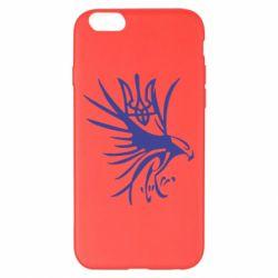 Чохол для iPhone 6 Plus/6S Plus Сокіл та герб України