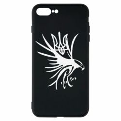 Чохол для iPhone 7 Plus Сокіл та герб України