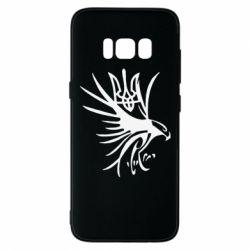Чохол для Samsung S8 Сокіл та герб України