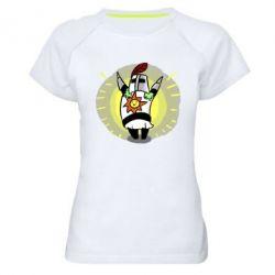 Женская спортивная футболка Solaire