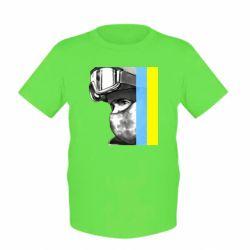 Детская футболка Солдат ато