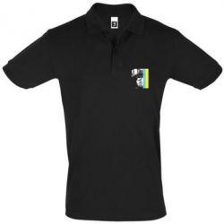 Мужская футболка поло Солдат ато
